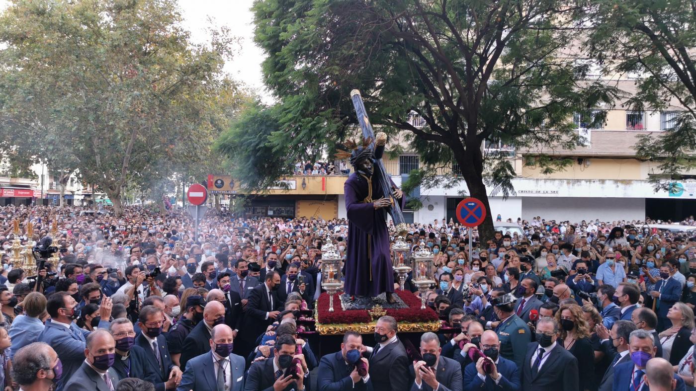 7TV se volcará en el traslado del Gran Poder a la parroquia de La Candelaria