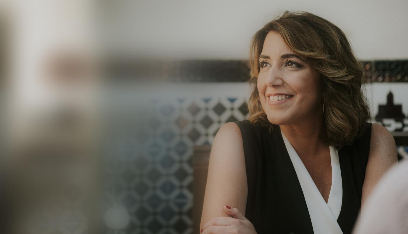 Susana Díaz, en 'Otro Sur es Posible'