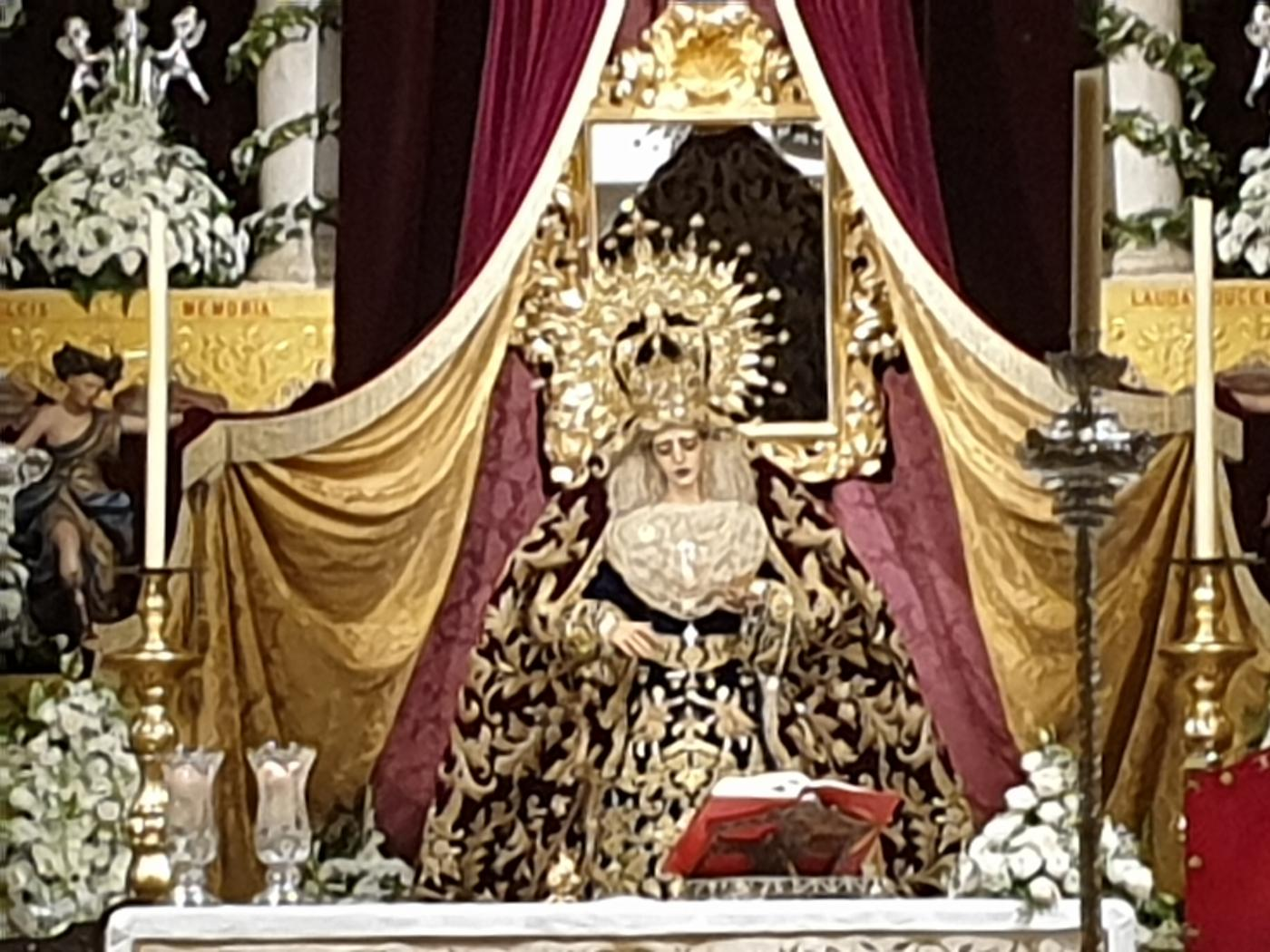 7TV Sevilla ofrece la salida extraordinaria de la Virgen de la Encarnación