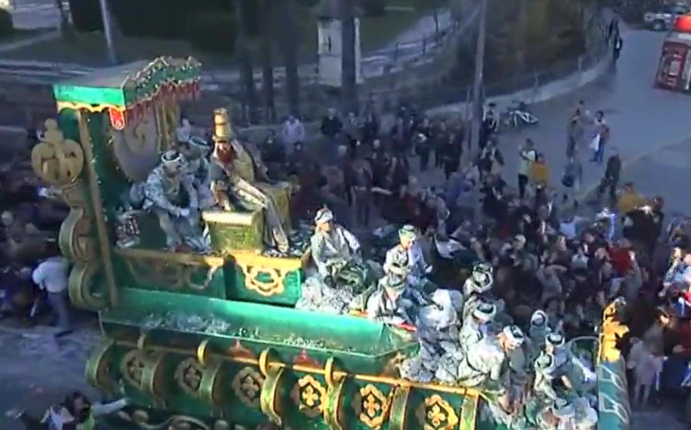 Vive la ilusión de la Cabalgata de los Reyes Magos de Sevilla con 7TV