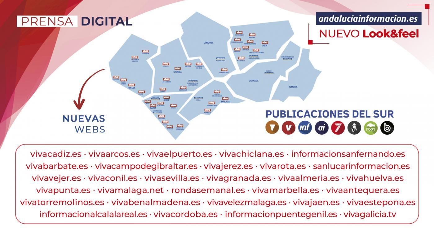 Publicaciones del Sur se expande: delegación en Madrid y lanzamiento de 30 nuevas webs