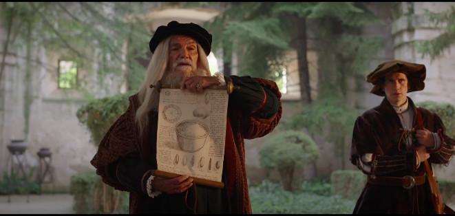 El anuncio de arroz Brillante nos descubre el mundo de los inventos de Leonardo Da Vinci